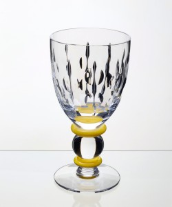 Goblet Yellow Button Stem