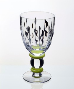 Goblet Green Button Stem