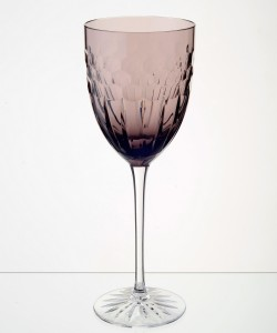 Esme Wine Glass Aubergine