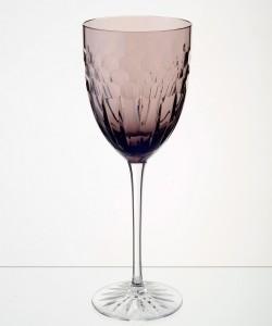 Esme Wine Glass Aubergine