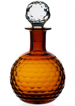 Round Honeycomb Decanter