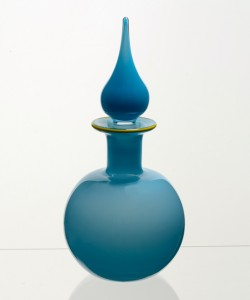 Opaque Round Decanter